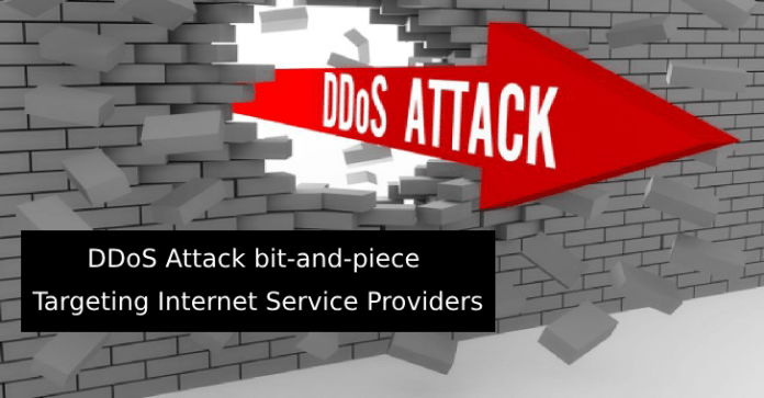 bit-and-piece  - bit and piece 1 - DDoS Attack bit-and-piece Pattern Targeting Internet Service Providers