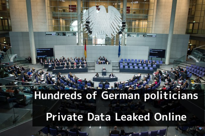 German politicians  - kfzJD1546681944 - Hundreds of German politicians Private & Sensitive Data Leaked Online