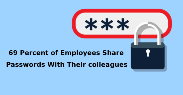 password sharing  - password sharing - Password Sharing – 69% of Employees Share Passwords in Workplace