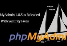 phpMyAdmin 4.8.5