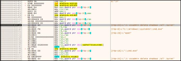 - vss 1 - Anatova Ransomware Encrypt the Users Data & Demands $700 USD