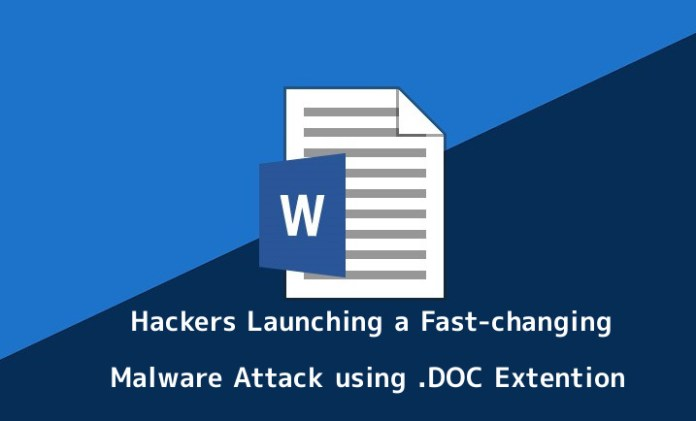 malspam  - GUAIE1551073581 - Hackers Launching a Fast-changing Malware Attack using .DOC Extention