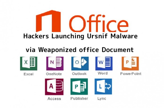 Ursnif Malware  - IoEor1549637918 - Hackers Launching Ursnif Malwere via Weaponized office Document