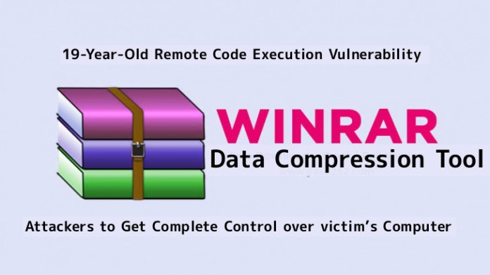 WinRAR  - WINRAR - ulnerability in WinRAR Allows Attackers to Compromise victim's Computer