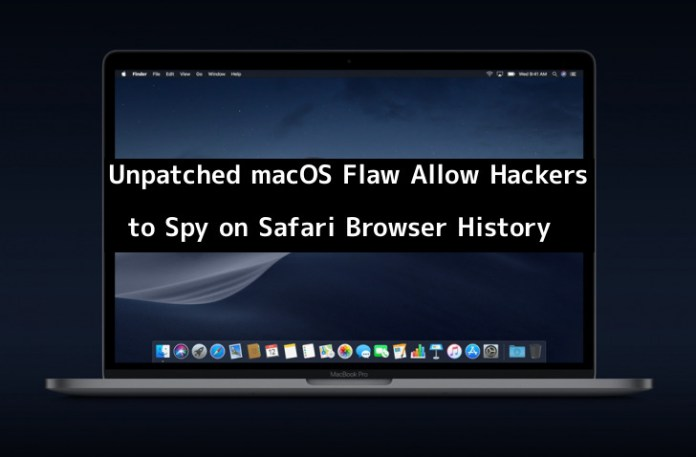 macOS Mojave  - wb0au1550070184 - Unpatched macOS Flaw Allow Hackers to Spy on Safari Browser History