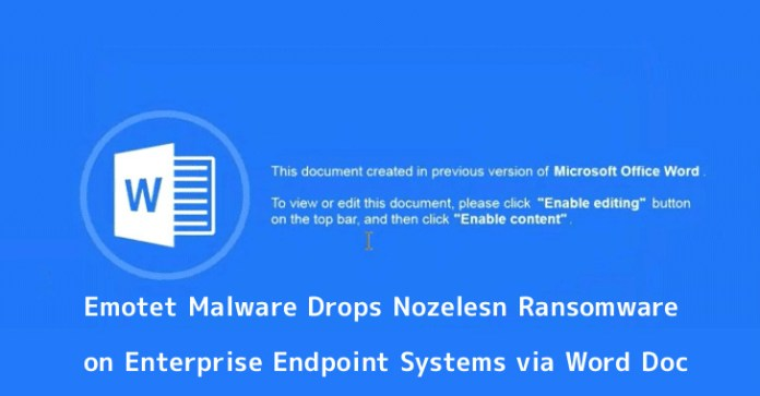 - 9MGaj1553992822 - Emotet Malware Mass Attack on Enterprise Endpoint Systems