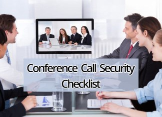 Conference Call Security