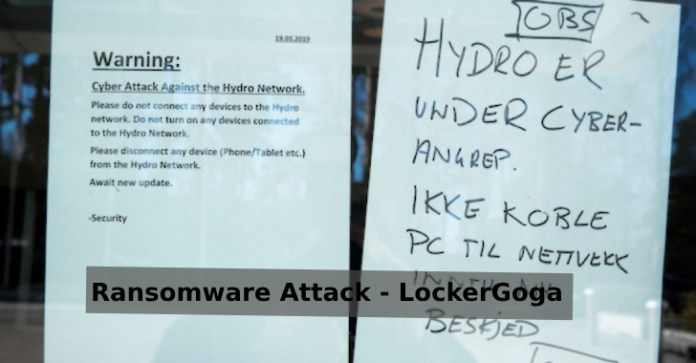 Extensive Ransomware Attack