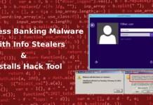 Fileless Banking Malware