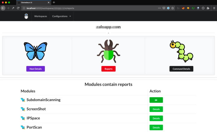 - Osmedeus 1 - Security Tool for Reconnaissance & Vulnerability Scanning