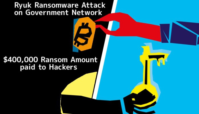 Jackson County  - PODK41552228045 - Jackson County, Georgia Computers Infected by Ryuk Ransomware