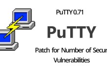 PuTTY 0.71