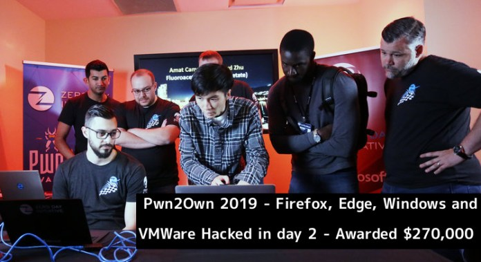 Pwn2Own  - Pwn2Own 2019  1 - Pwn2Own 2019 – Firefox, Edge, Windows, VMWare Hacked