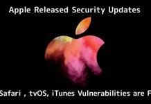 Apple Released Security Updates
