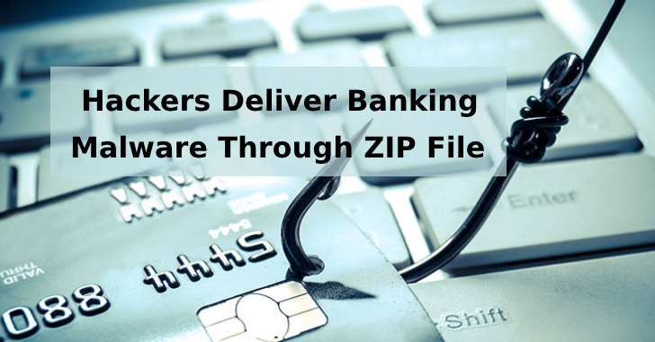 Hackers Deliver Banking Malware Through ZIP File's