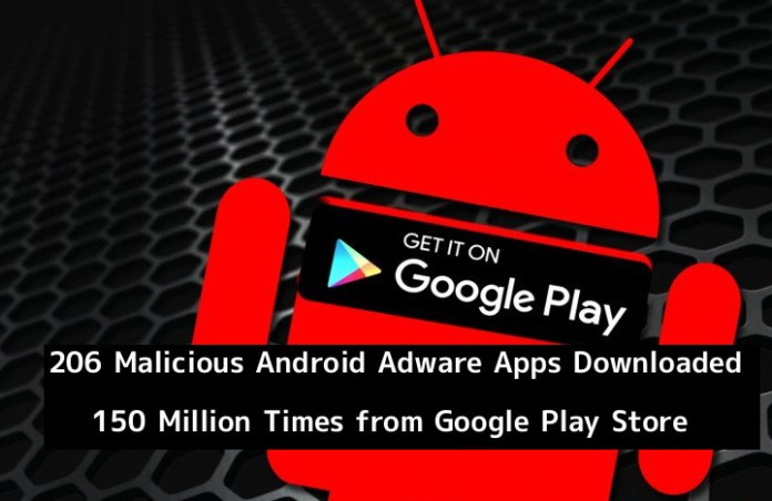 SimBad  - gcwgn1552554999 - 206 Malicious Android Adware Apps Downloaded 150 Million Times