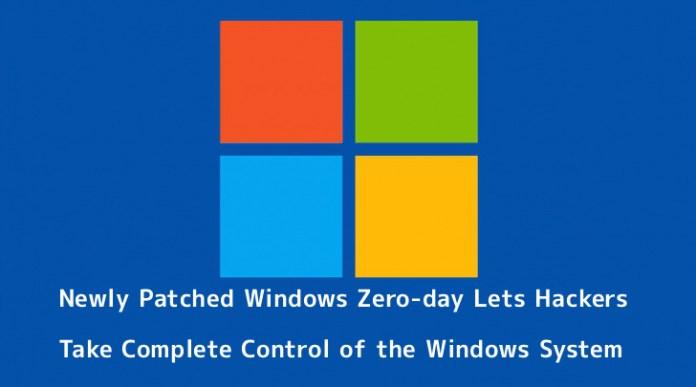 Windows Zero-day  - 1Hfeq1555391893 - Windows Zero-day Lets Hackers Take Complete Control of the Windows