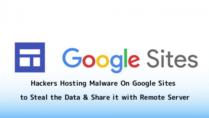 Google Sites  - 3Uyaw1556081037 - Google Sites abused to host Malware that used To Steal the Data