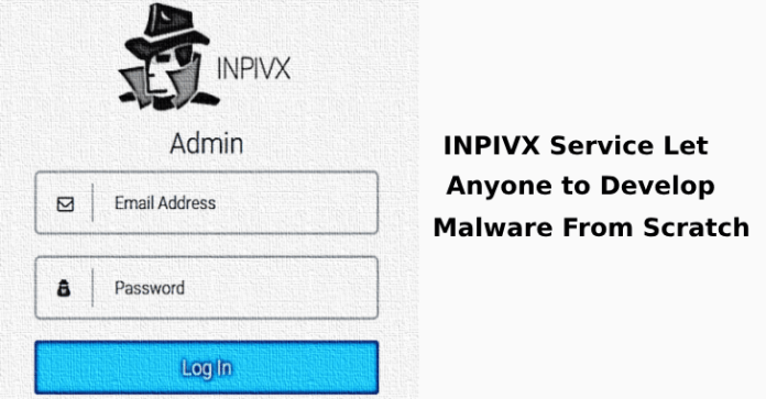 INPIVX  - INPIVX 2 - INPIVX Service Let Anyone to Develop Malware From Scratch