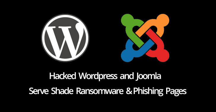 Hackers Using Wordpress and Joomla Sites to Distribute ransomware