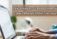 cyber defenses