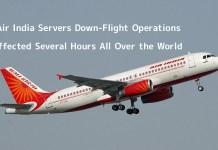 Air India Servers Down