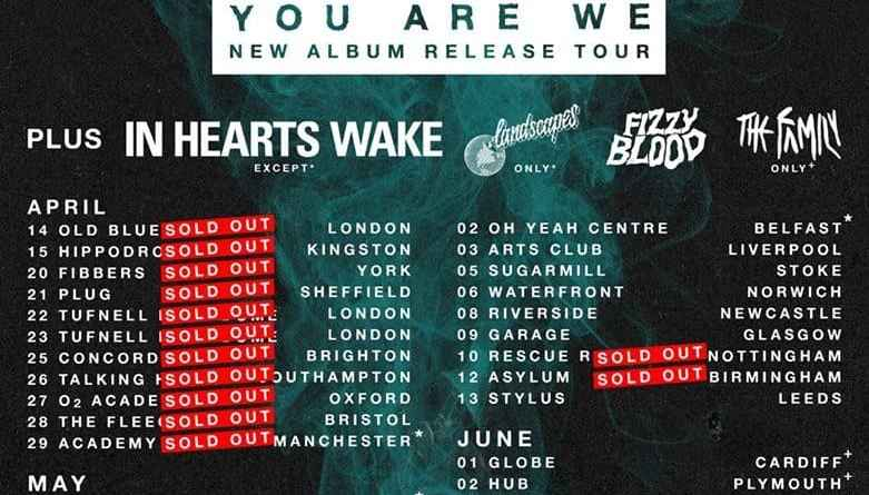 Live Review – While She Sleeps at The Dome, Tufnell Park (22/04/2017)