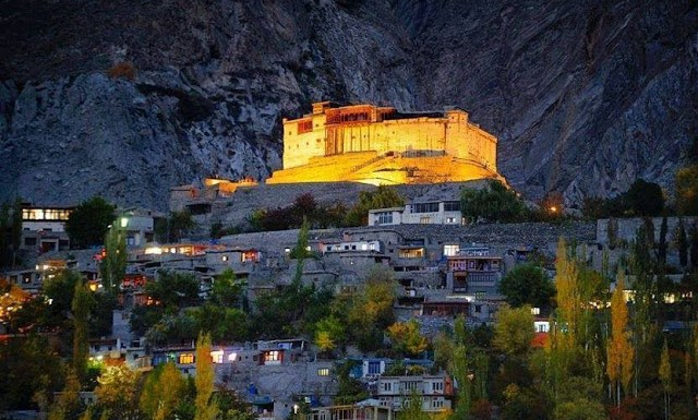Baltit Fort at Karim Abad, Hunza