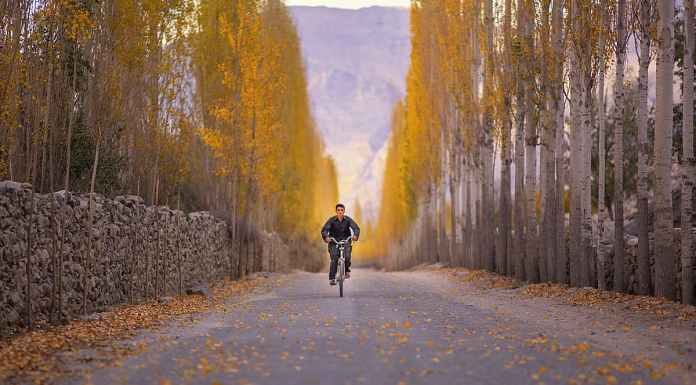 Road to Khaplu Valley