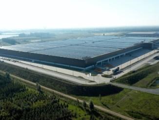 PVH instala cobertura solar gigante