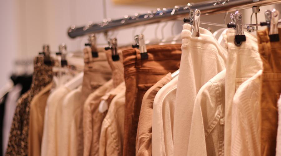 Inflação mensal de moda passa de 1%