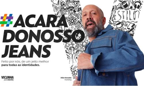 #ACaraDoNossoJeans: funcionários na nova campanha da Vicunha
