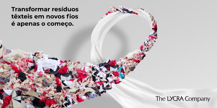 Campanha da Lycra estimulando a circularidade na moda