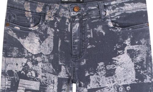 Novos acabamentos para o jeans colorido