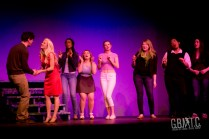 The cast of Legally Blonde reunited for a snappy little number.
