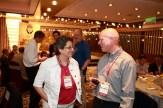 Graham with Nancy Goroff.