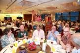 Enjoying the banquet, at Silks Palace.
