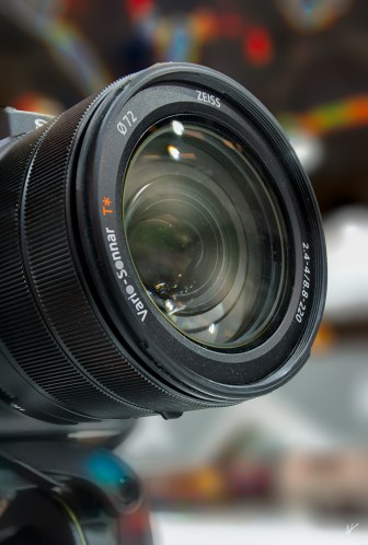 Close-up photo lens on bokeh