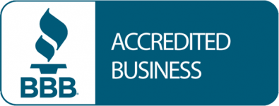 The BBB Accredited Business logo.