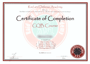 Raid and Defense Academy - CQB