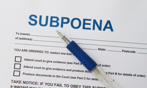 absolute immunity subpoena abuse