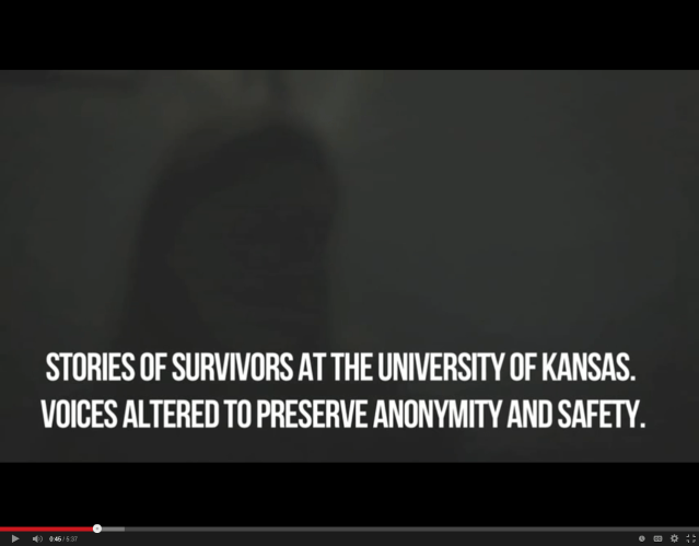 Students from University of Kansas take safety seriously. In this video, the filmmaker conceals the identity of the survivor stories. Watch video: https://library.witness.org/product-tag/gender-based-violence/