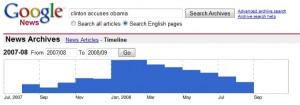 Google News - Clinton Accuses Obama