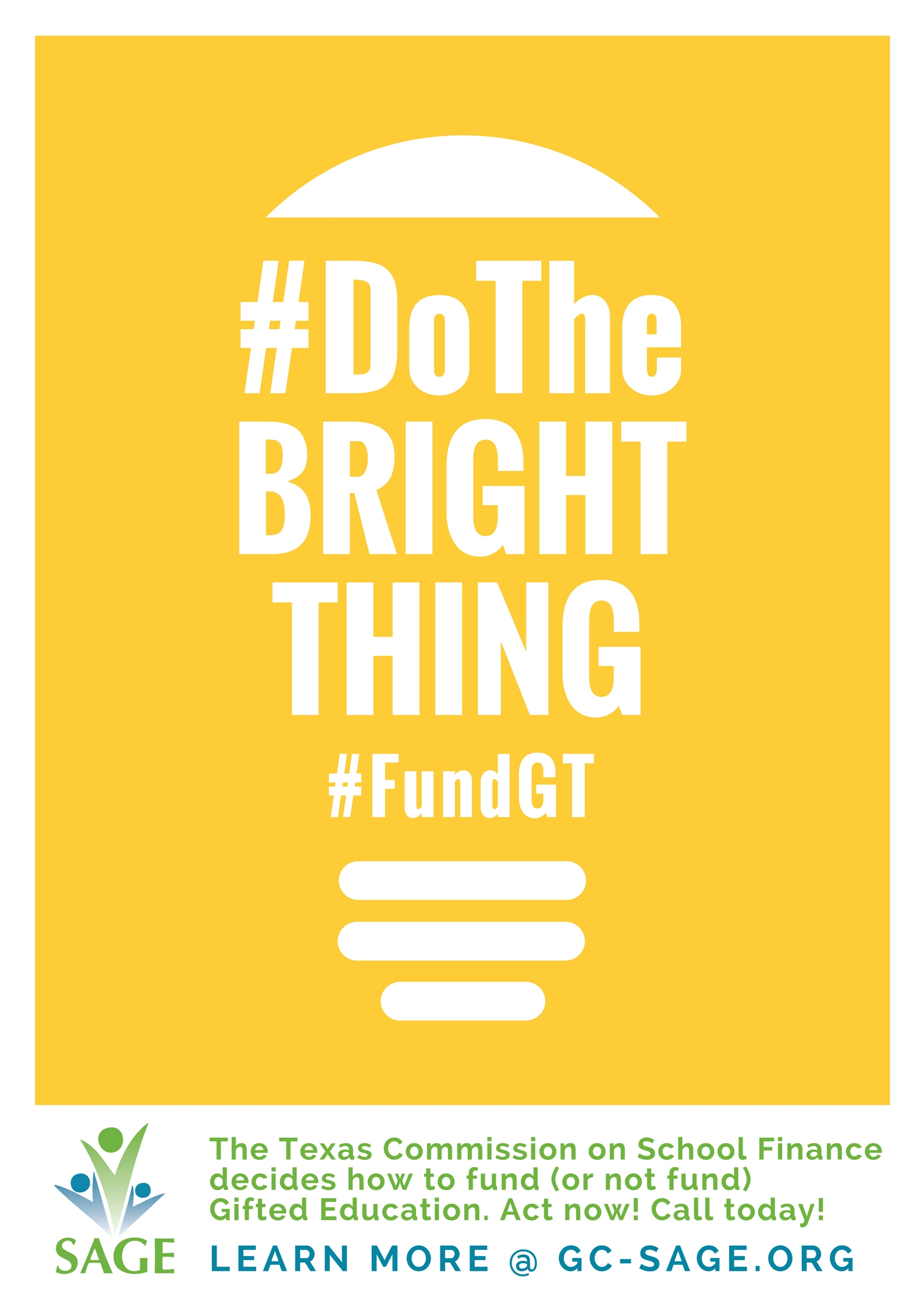 Call to Action: Contact your legislator about gifted funding in the state budget
