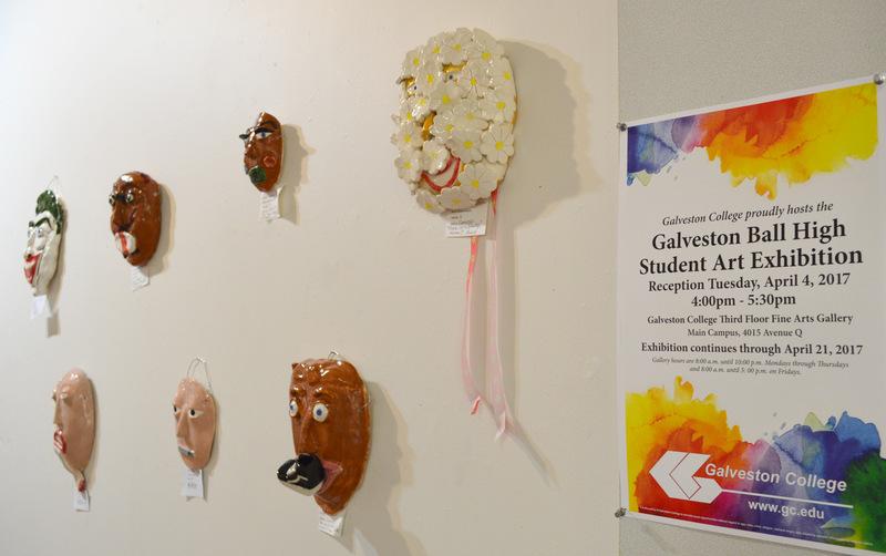 Ball High School Student Art Exhibition Galveston College