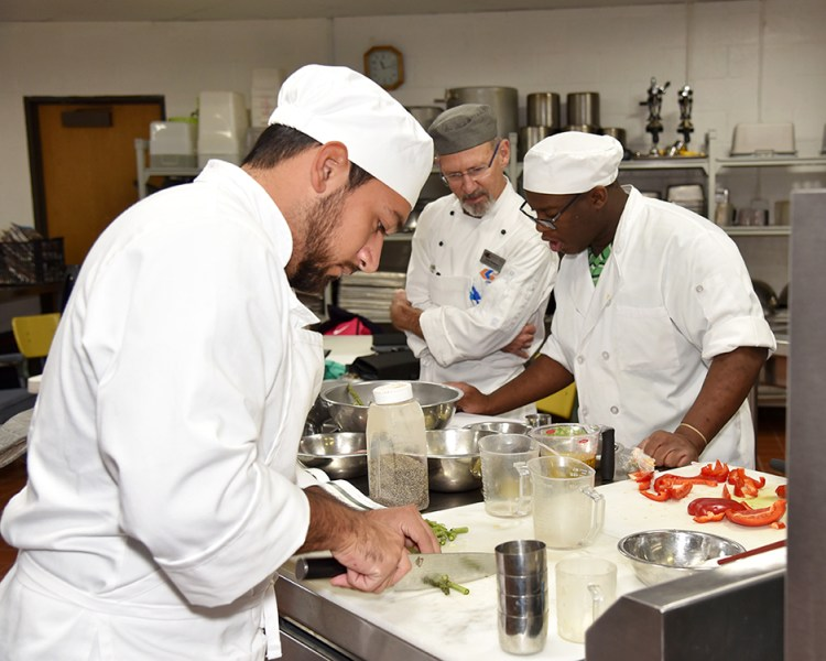 Galveston College Culinary Arts students to host luncheon     Culinary Arts students Stephen Limones and Shaylin Petteway
