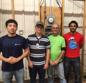 Quickstart Electrical Helpers Program students at Galveston College