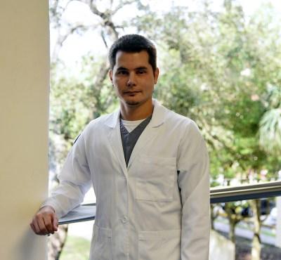Alexander Yordanopoulos, Nuclear Medicine student at Galveston College