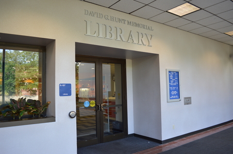 David Glenn Hunt Memorial Library at Galveston College