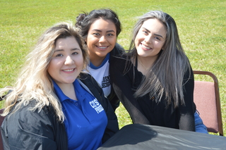 2018 Galveston College Students at the Spring Fling at the main campus
